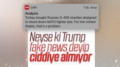 Türkiye'nin S-400 alımı CNN'in merceği altında