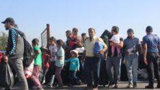 20 bin Suriyeli bayram tatili için ülkesine gitti