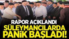 Rapor açıkladı, Süleymancılarda panik başladı