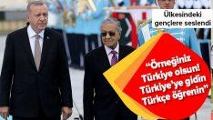 Genç Malezyalılar Türkiye'ye gitmeli