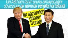 ABD'den Çin'e getirilen gümrük vergisinde erteleme