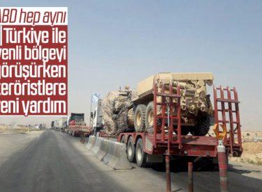 ABD'den YPG'li teröristlere yeni sevkiyat