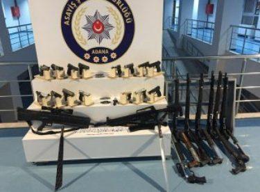 Adana'da operasyon: 126 yakalama