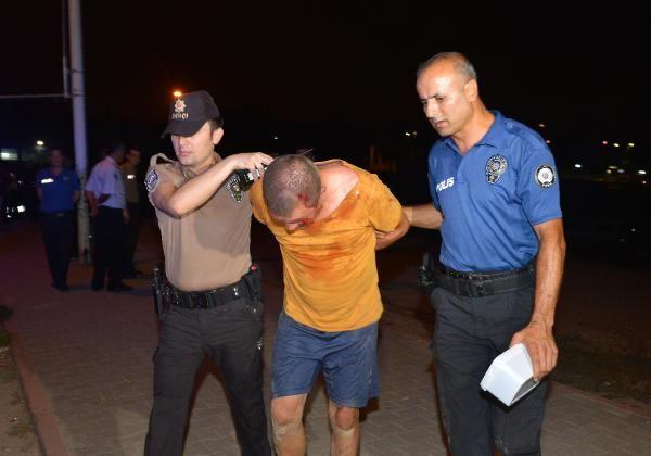 Adana'da satırlı saldırgan 3 kişiyi yaraladı