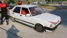 Adana'da trafikte sahte plakalı araç