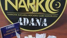 Adana'da uyuşturucu operasyonu: 2 tutuklama