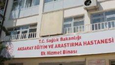 Aksaray'da hastanede vurgun yapan şüpheliler yakalandı