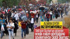 Almanya, memleketine giden Suriyelileri sınır dışı edecek