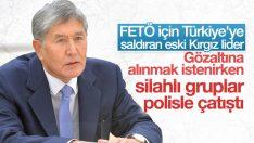 Atambayev'in gözaltısı Kırgızistan'ı karıştırdı: 1 ölü 36 yaralı