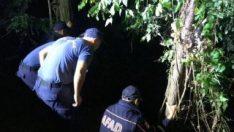 Baraja düşen araçtaki 4 kişinin cansız bedeni çıkarıldı