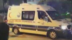 Büyükçekmece'de festival alanında havai fişek kazası