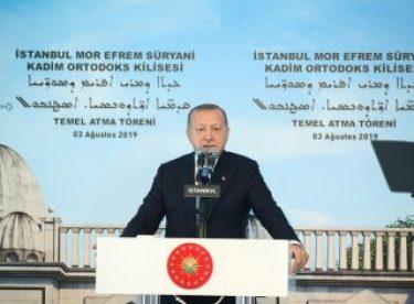 Cumhurbaşkanı Erdoğan: Kapımız sonuna kadar açık
