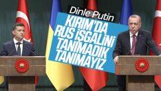 Cumhurbaşkanı Erdoğan Ukrayna lideri ile bir araya geldi
