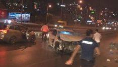 D-100 Karayolu'nda aynı yerde iki kaza: 1 ölü 7 yaralı