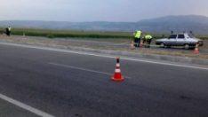 Denizli'de kaza: 1 ölü