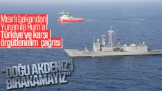 Doğu Akdeniz için Mısır'dan Türkiye'ye karşı diplomasi trafiği