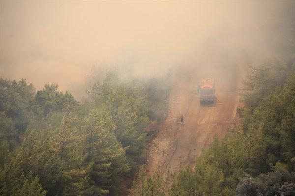 Farklı noktalarda üst üste orman yangınları