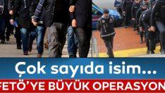 FETÖ operasyonu ,18 gözaltı kararı