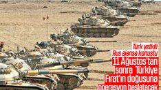 Fırat'ın doğusuna operasyon için ilk kez tarih verildi