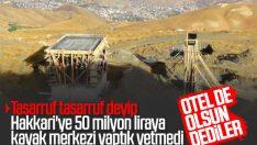 Hakkari'deki kayak merkezine 100 yataklı otel yapılacak