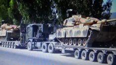 Hatay'a tank sevkiyatı