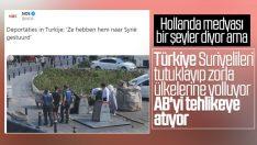 Hollanda medyası: Türkiye Suriyelileri zorla gönderiyor