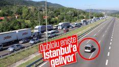 İstanbul'dan gidenler kuyruk oluşturdu