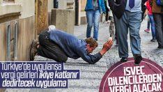 İsveç'teki dilenciler belediyeye işgal harcı verecek
