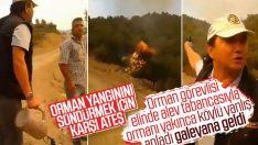 İzmir'deki orman yangınında karşı ateş yanlış anlaşıldı