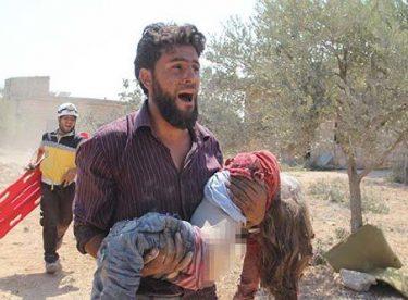 İdlib'de çocuk katliamı!