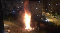 Karabük'te çocuklar yangına neden oldu