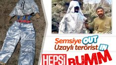 Kostümle korunmaya çalışan PKK'lı terörist öldürüldü