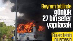 Kurban Bayramı öncesi otobüs biletleri tükendi