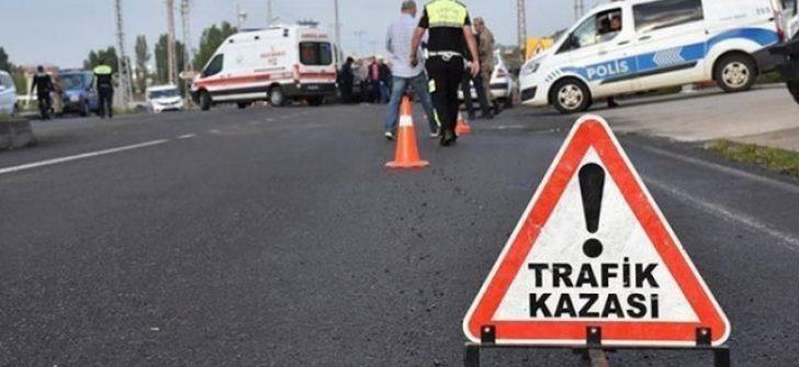 Manisa'da Zincirleme trafik kazası