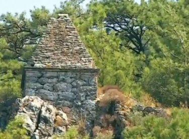 Marmaris'te türbe zannedilen mezar