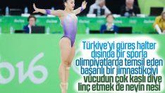 Milli jimnastikçi Tutya Yılmaz'a sosyal medya linci