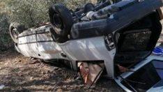 Muğla'da alkollü sürücü kaza yaptı: 1 ölü 2 yaralı