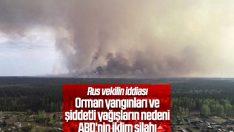 Rusya, orman yangınlarında iklim silahından şüpheleniyor
