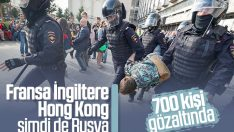 Rusya'da seçim protestosu devam ediyor