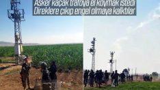 Şırnak'ta kaçak trafo operasyonuna engel