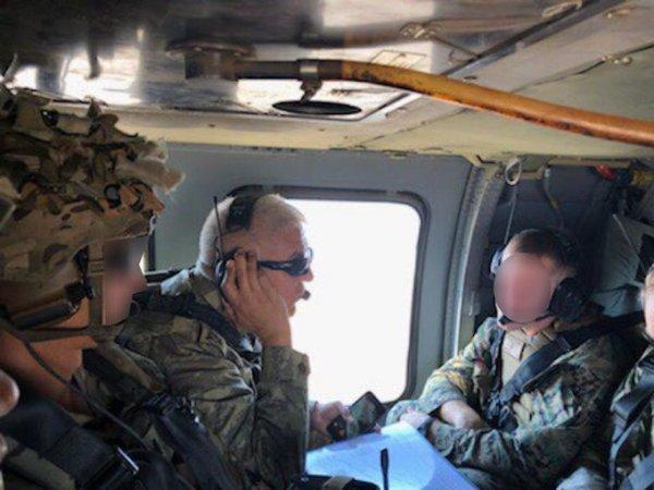 TSK helikopteri Fırat'ın doğusunda