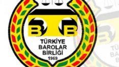 Türkiye Barolar Birliği, kayyumlarla ilgili açıklama yaptı