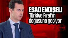 Türkiye'nin Fırat'ın doğusuna geçişi Esad'ı korkuttu