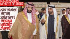 Veliaht prensler Yemen saldırıları için bir arada