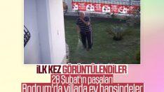 28 Şubat paşaları Bodrum'da yazlıklarda
