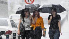 Meteoroloji saat verdi, yağmur geliyor!