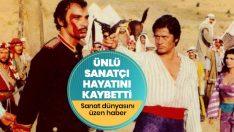 Yeşilçam'ın ünlü oyuncusu Süleyman Turan hayatını kaybetti