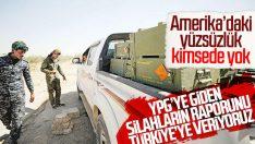 ABD'den YPG'ye verilen silahlar için açıklama geldi