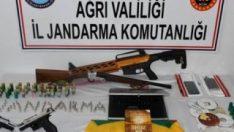 Ağrı'da terör operasyonu: 10 gözaltı