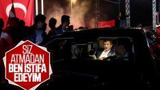 Ahmet Davutoğlu, AK Parti'den istifa kararı aldı